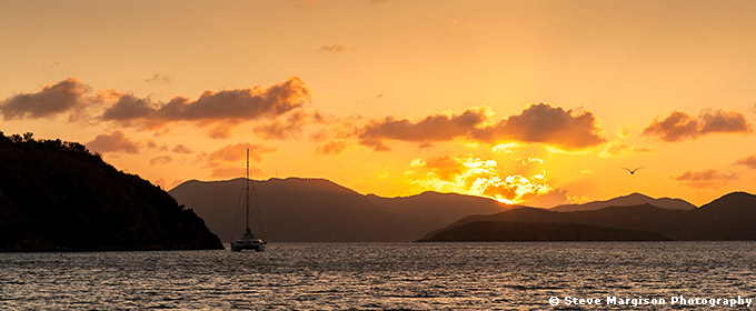 Sunset - British Virgin Islands by Steve Margison Photography - May 06, 2017.